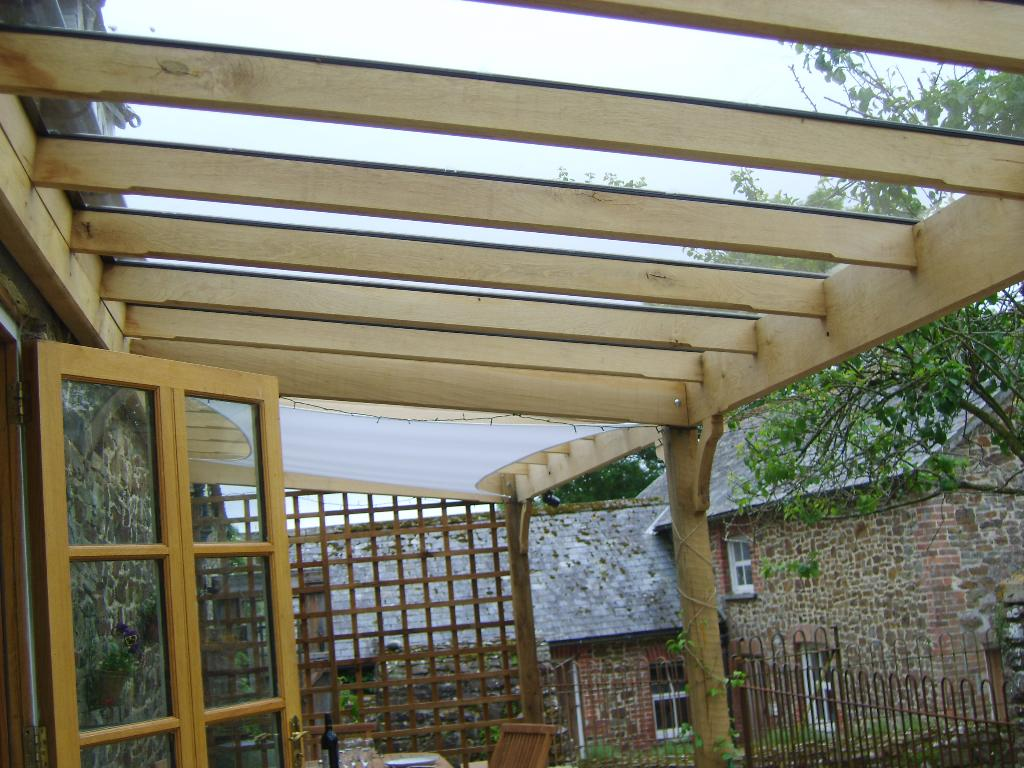 Photo gallery of exterior furniture made by dh furniture maker - Glas pergola ...